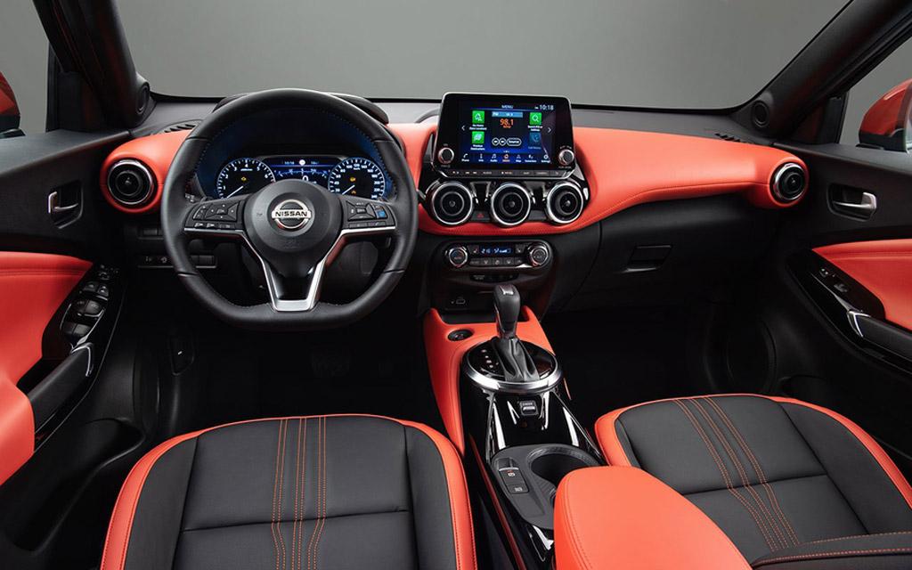 Nissan Juke 2021 в Украине, интерьер кроссовера