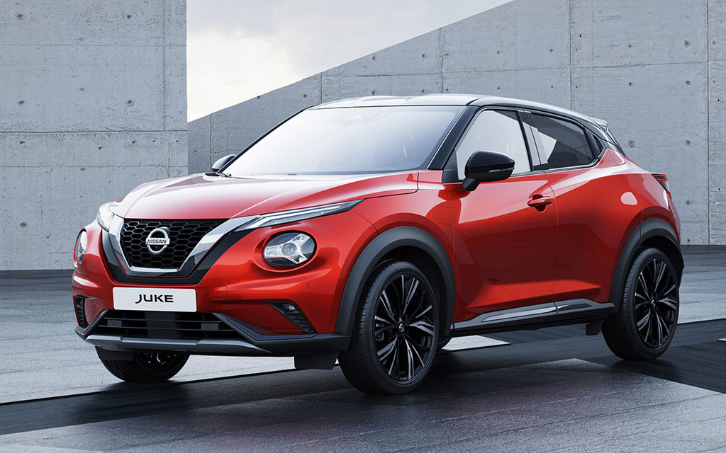 Новый Nissan Juke 2021 уже в Украине — цены и комплектации