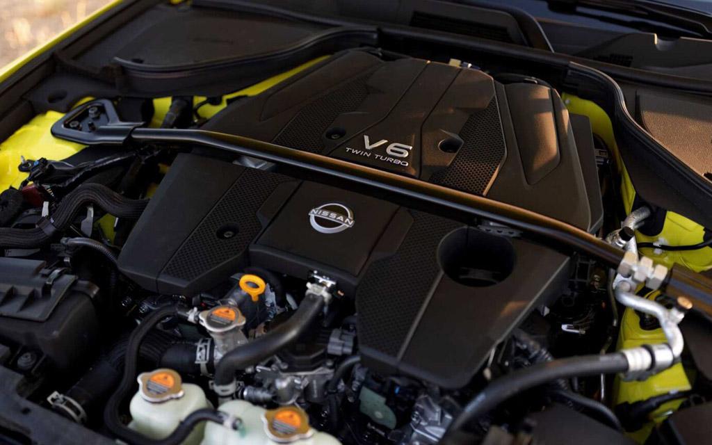 Nissan Z 2021, двигатель купе
