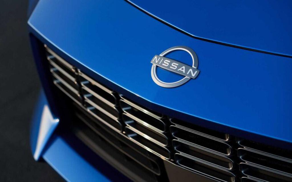 Nissan Z 2021, эмблема компании