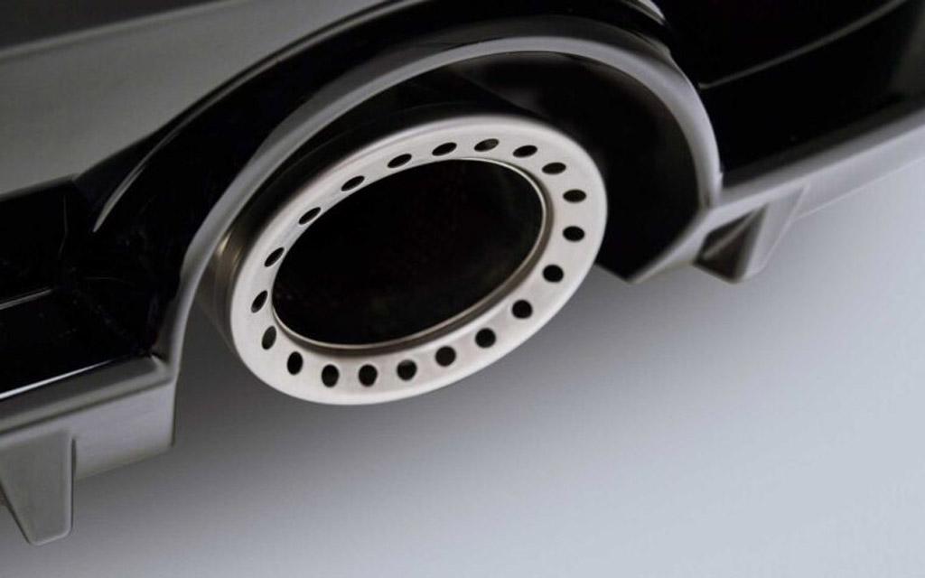 Nissan Z 2021, наконечник выхлопной системы