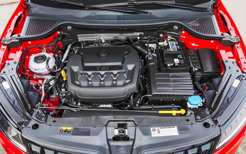 Технические характеристики двигателя Шкода Карок и разгон до 100