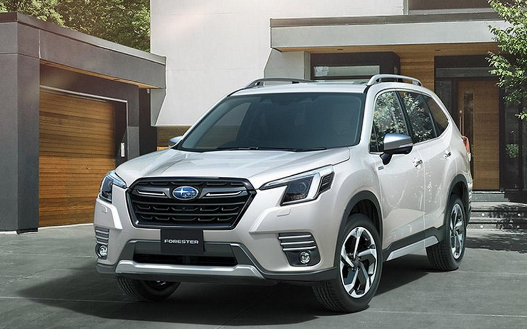 Subaru Forester 2021 для России, LED ходовые огни