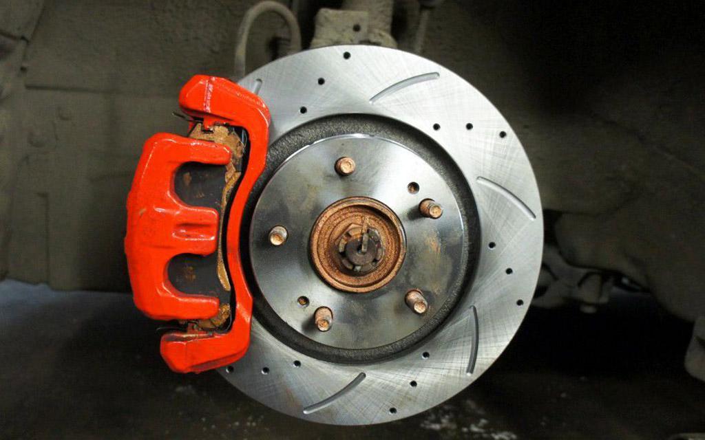 Вентилируемый тормозной диск