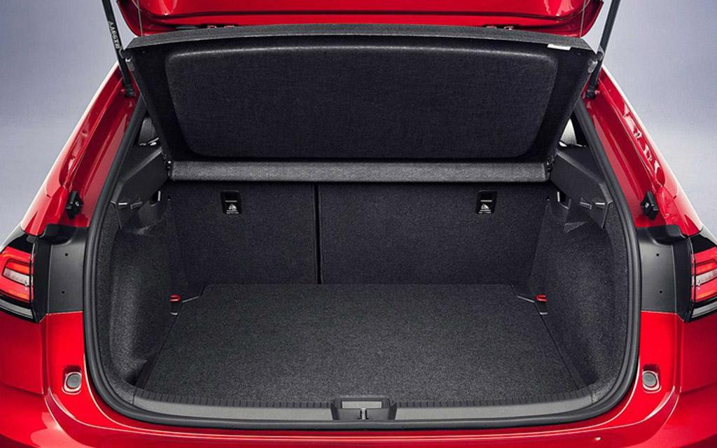 Volkswagen Taigo 2022, багажное отделение