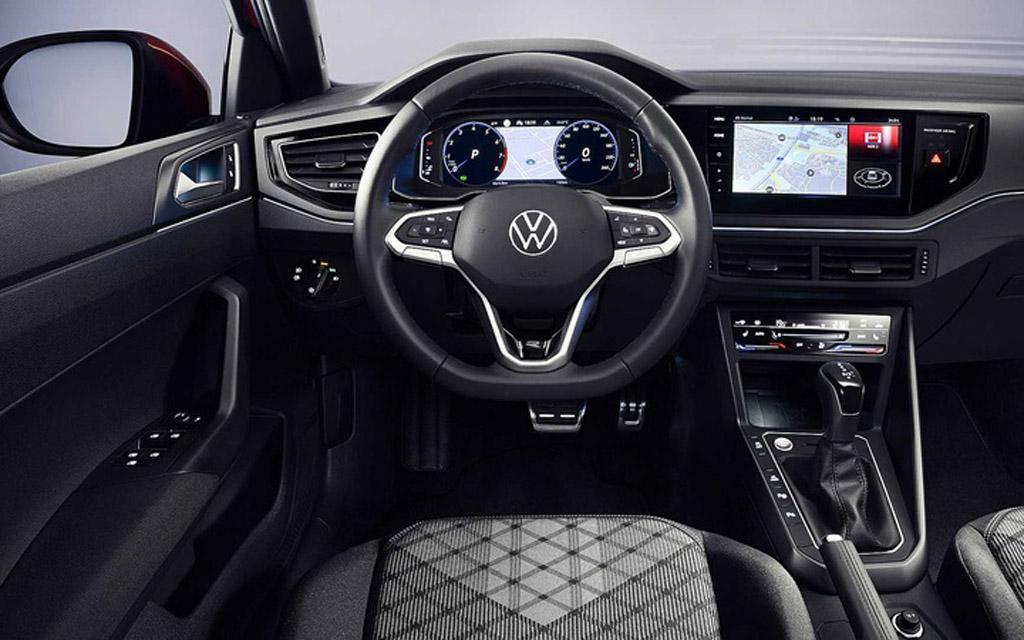 Volkswagen Taigo 2022, передняя панель