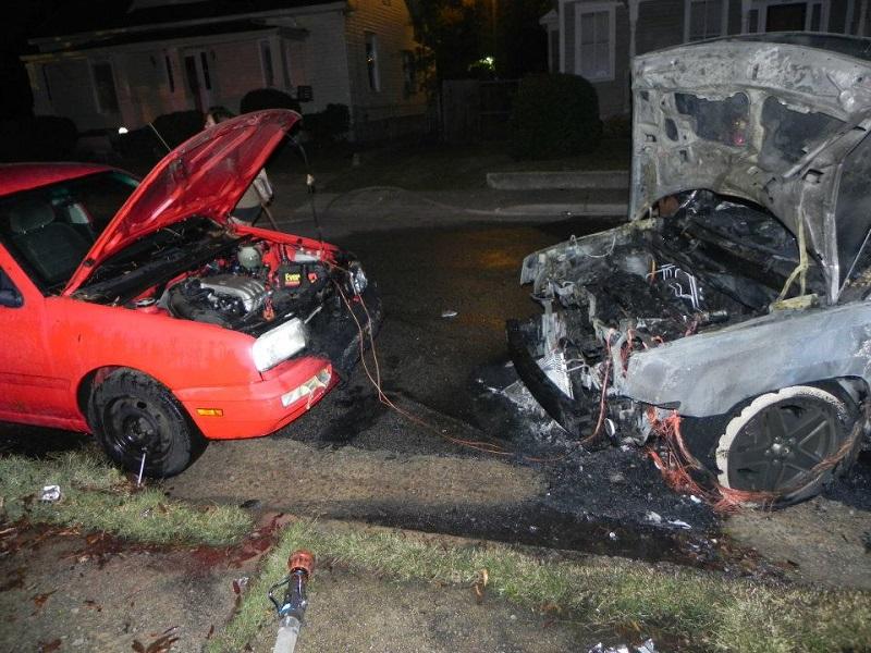 Последствия взрыва автомобильной батареи