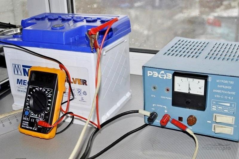 Безопасная зарядка аккумулятора