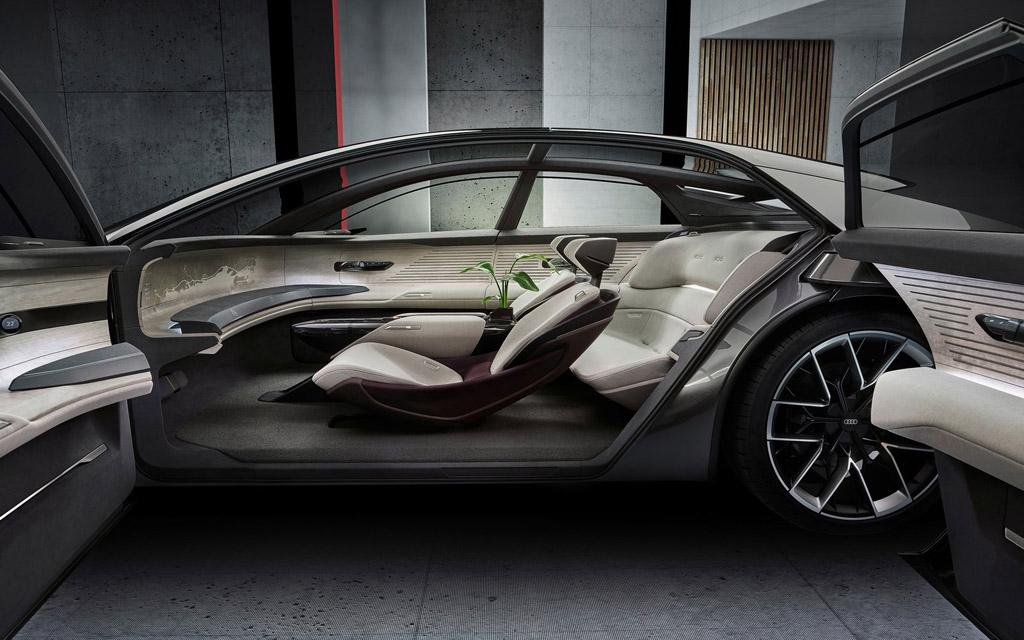 Audi Grandsphere Concept 2021, вид сбоку