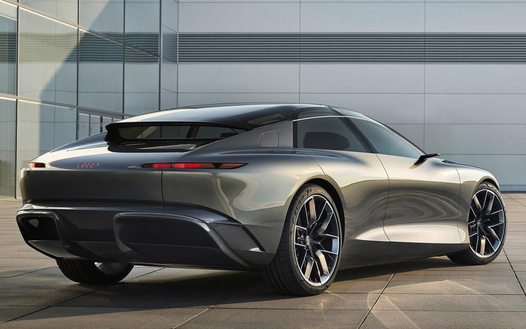 Audi Grandsphere Concept 2021, вид сзади