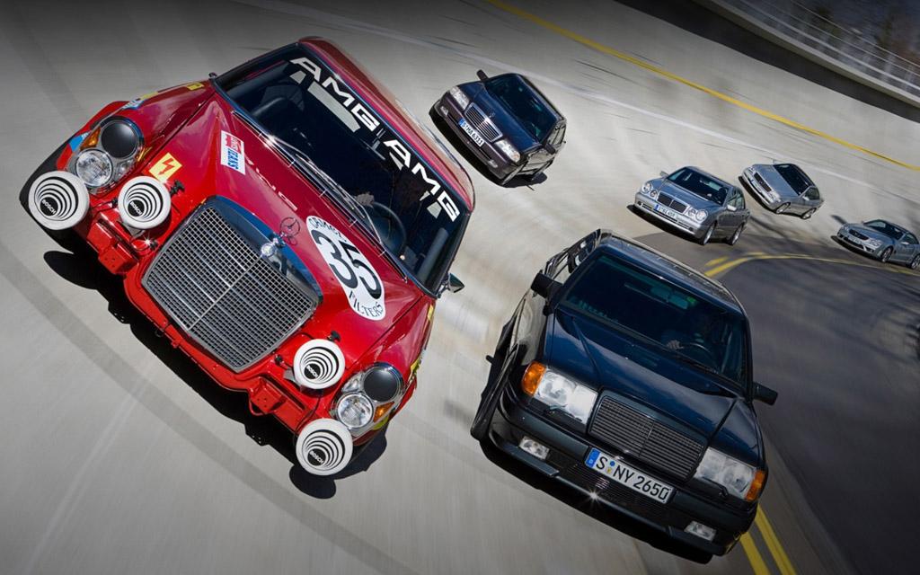 Автомобили Mercedes AMG
