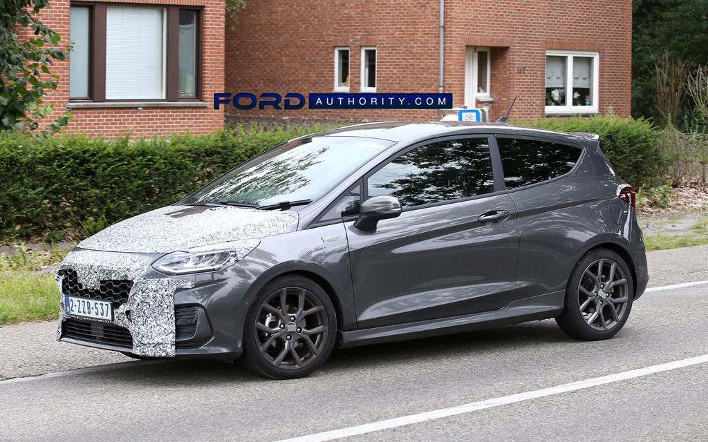 Ford Fiesta ST-Line 2022, колесные диски