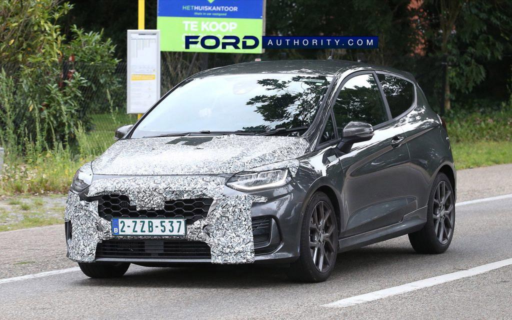 Обновленный Ford Fiesta 2022 — первые подробности
