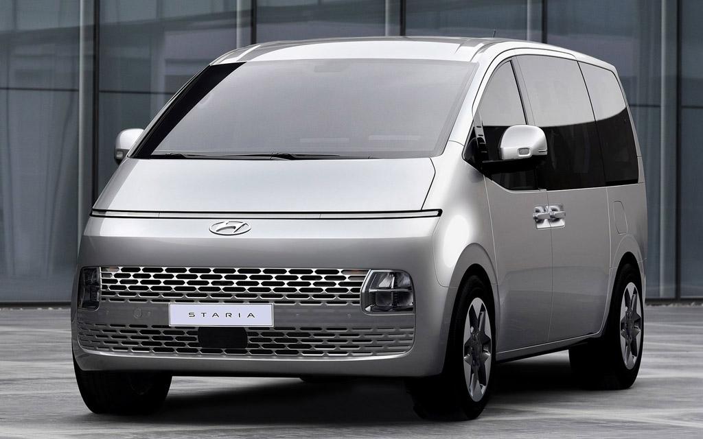 Hyundai Staria 2021 в Украине — старт продаж, цены и комплектации