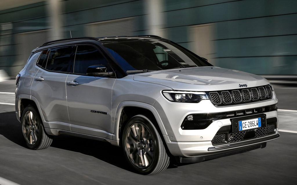 Jeep Compass 2022, LED дневные ходовые огни