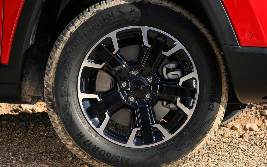 Jeep Compass 2022, колесные диски