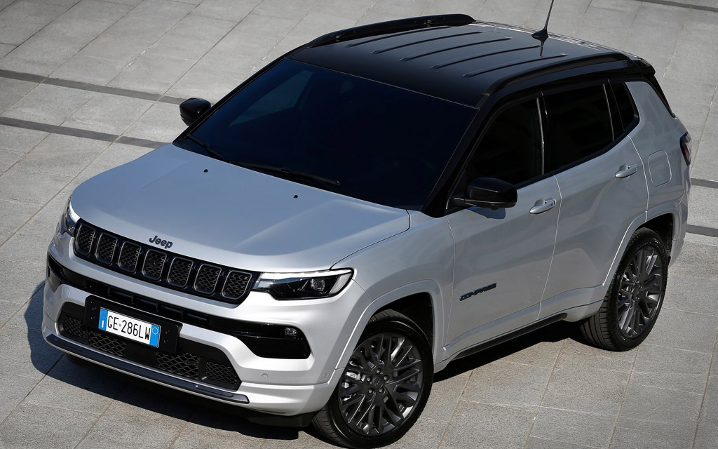 Jeep Compass 2022, крыша внедорожника