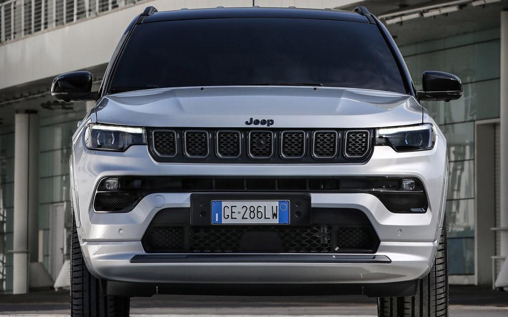 Jeep Compass 2022, светодиодная оптика