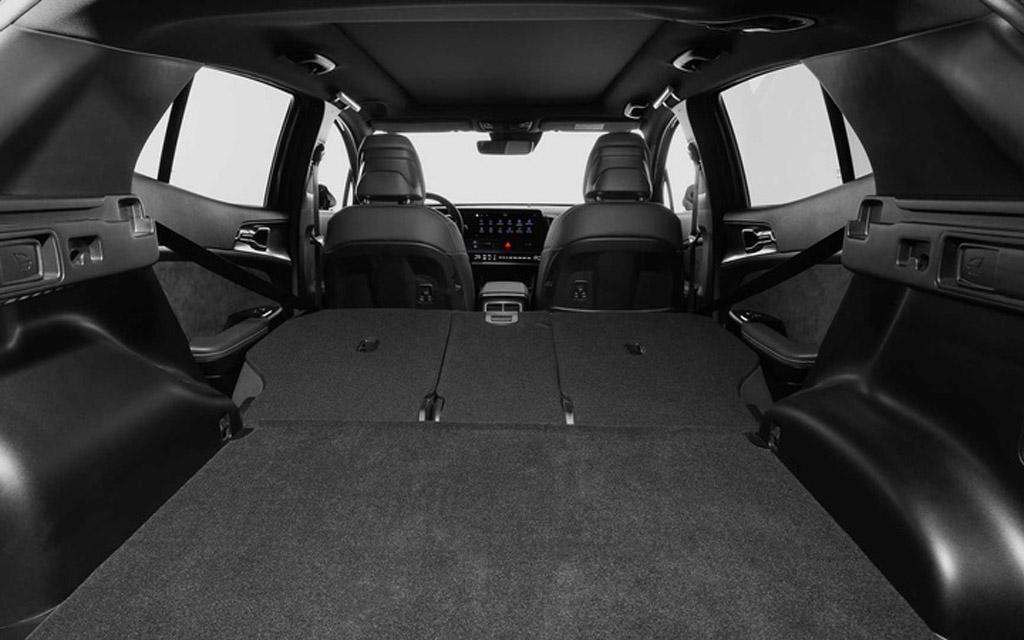 Kia Sportage GT-Line 2022 для Европы, багажное отделение
