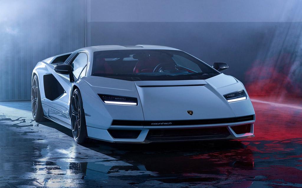 Новый Lamborghini Countach 2021 — характеристики и фото новинки