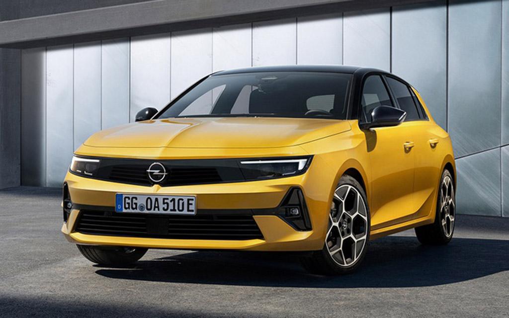 Премьера Opel Astra 2022 — комплектации и цены