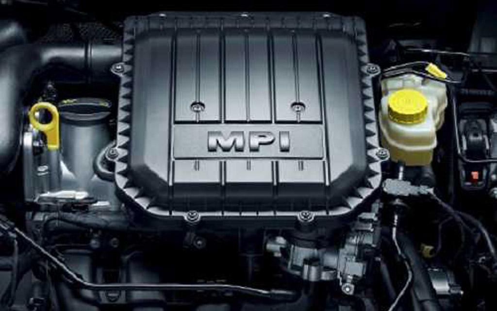 Skoda Fabia 2010 универсал рестайлинг, двигатель