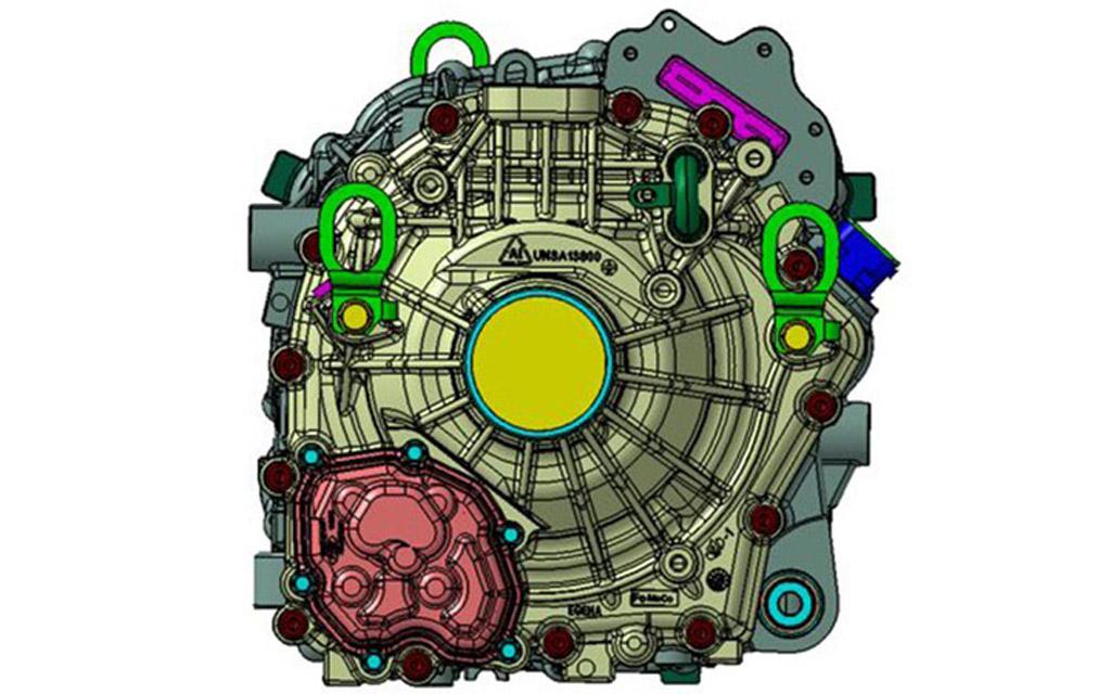 Замена ДВС на электродвигатель от Ford