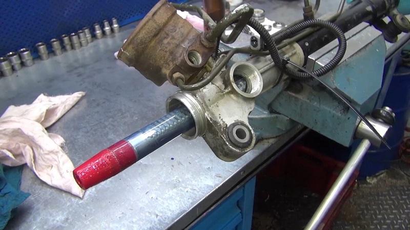 Методика ремонта рулевой рейки