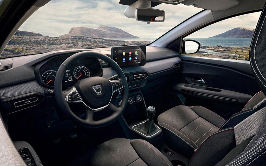 Dacia Jogger 2022, передняя панель