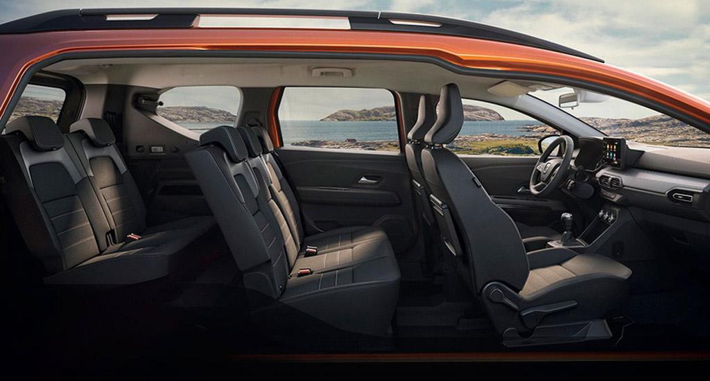 Dacia Jogger 2022, три ряда сидений