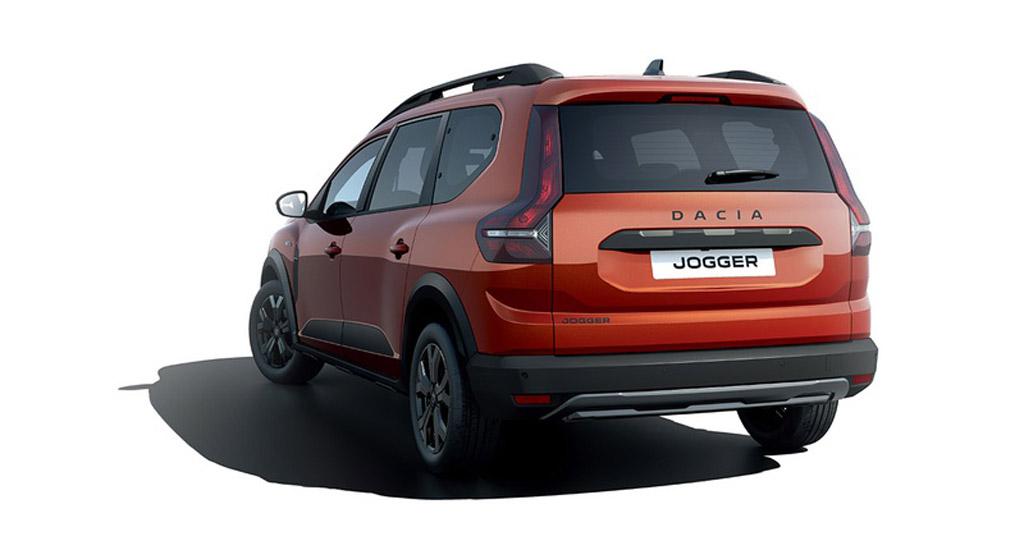 Dacia Jogger 2022, вид сзади
