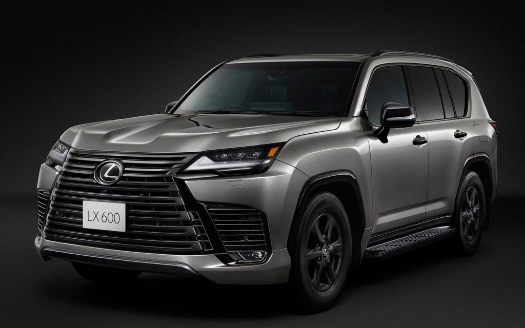 Премьера нового Lexus LX 2022 — дата и характеристики