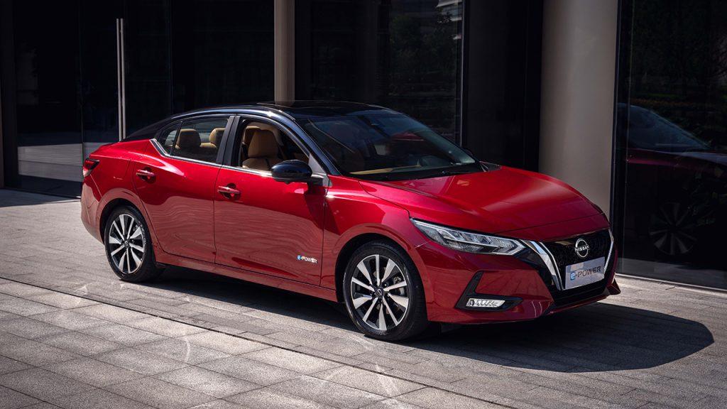 Nissan Sylphy e-Power — гибридный седан
