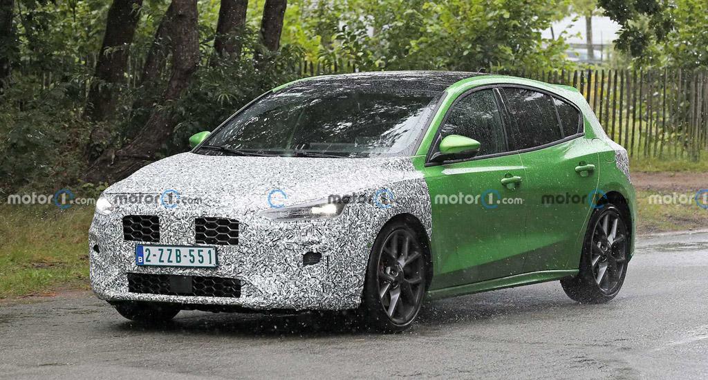 Новый Ford Focus ST 2022 — первые подробности тестирования
