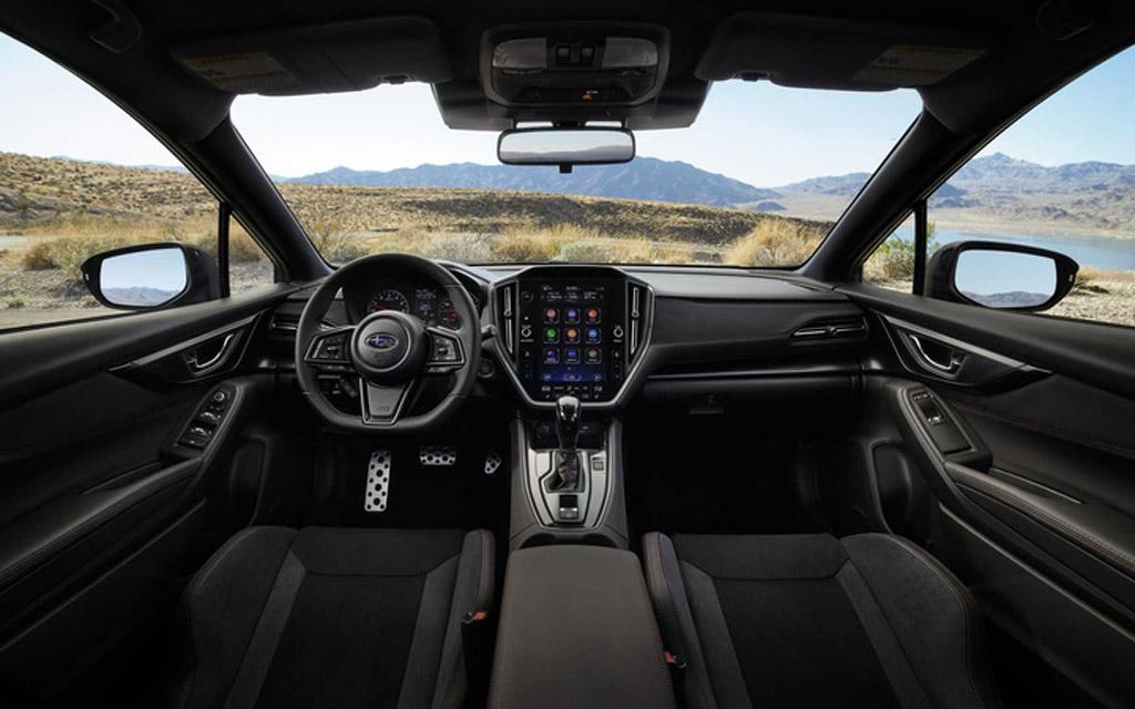 Subaru WRX 2022, передняя панель