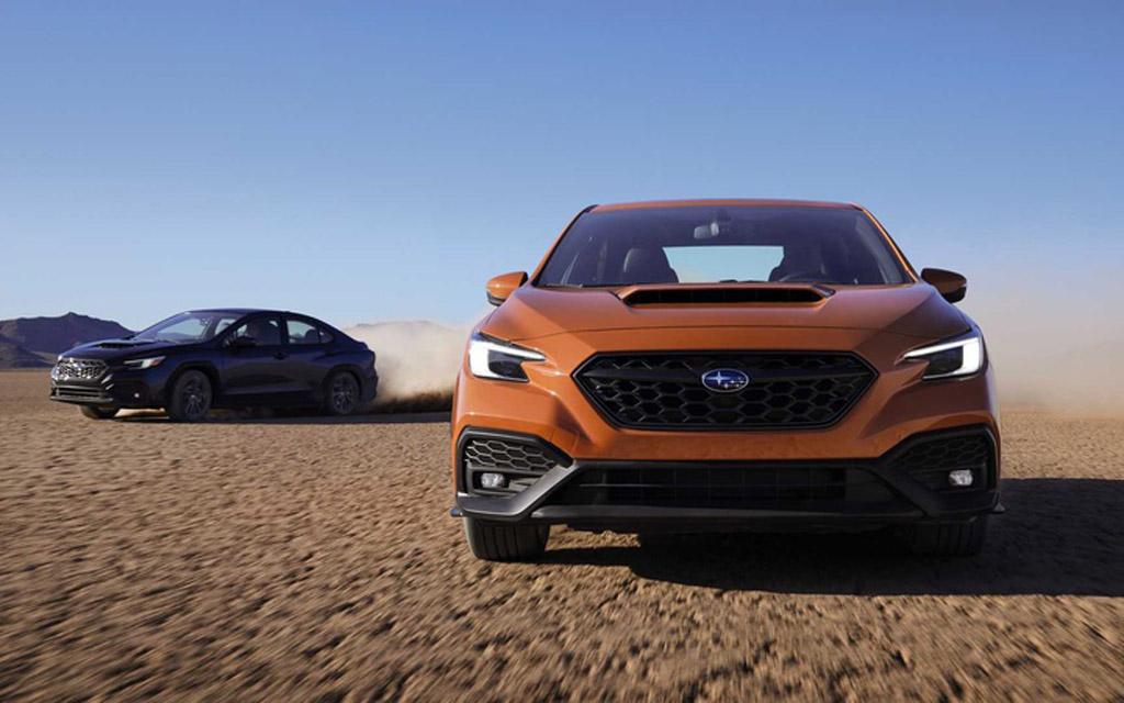 Новое поколение Subaru WRX 2022 — мощный двигатель и дизайн