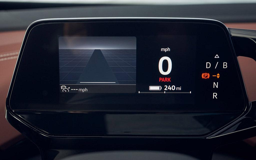 Volkswagen ID.4 2021, панель приборов